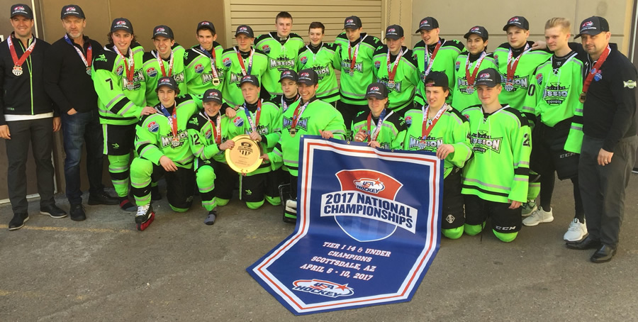 National Champs Bantam Major 14U's
