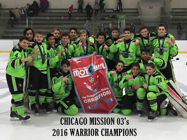 Mission 03's Warrior Champions