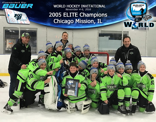 Mission 05's Bauer World Invite Champions