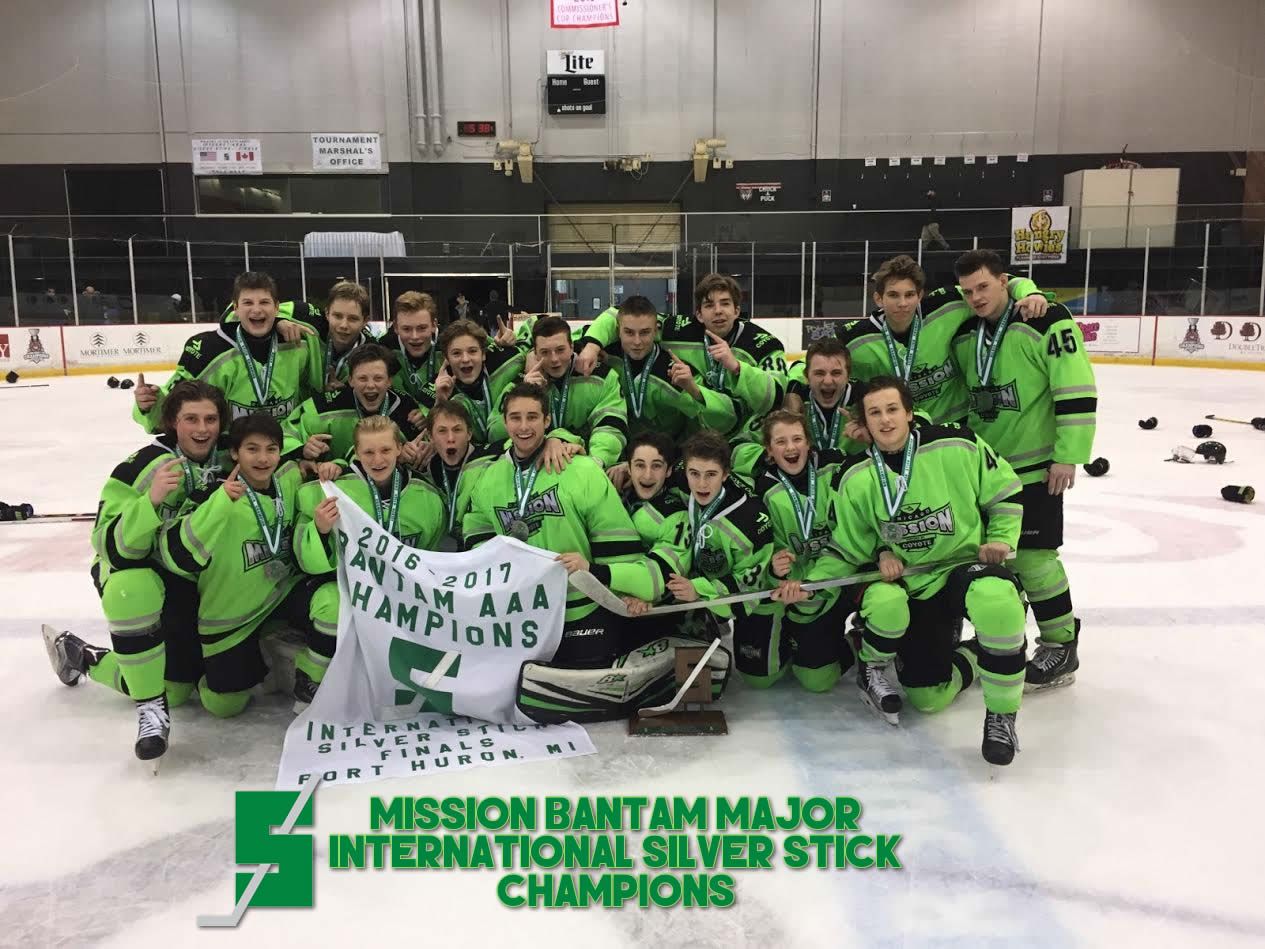 Bantam Major 02's – Silver Stick Champions