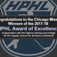 High Performance Award of Excellence goes to the Chicago Mission.