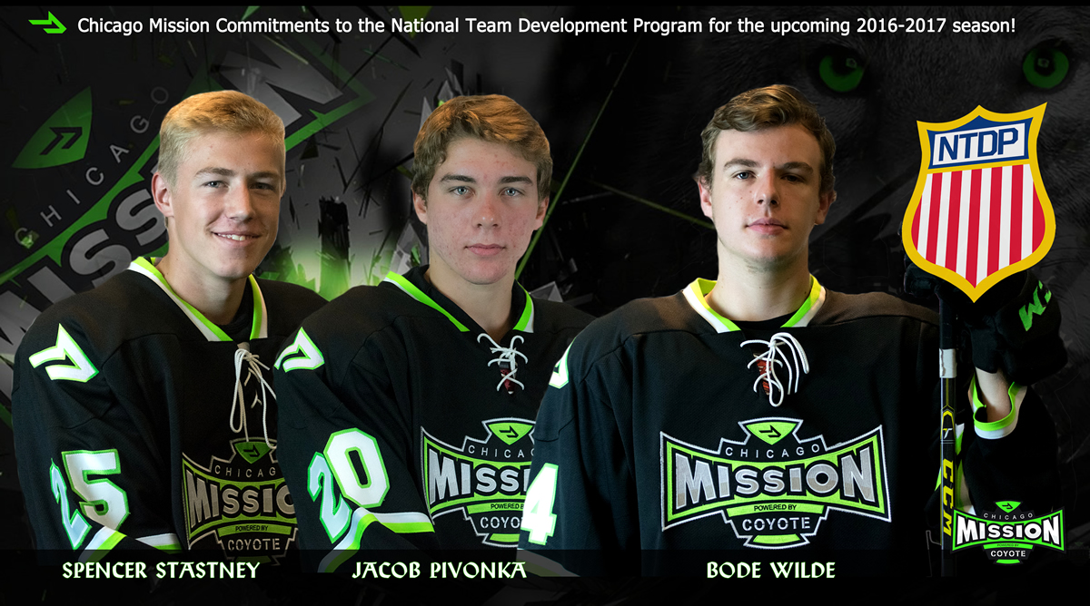 Stastney/Pivonka/Wilde – National Team Development Program