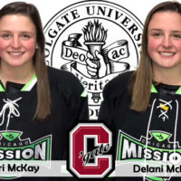 Eleri and Delani  MacKay Commit to Colgate