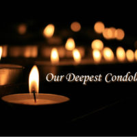 Condolences to Vivian Cronin (Mission G16U) and her entire family.