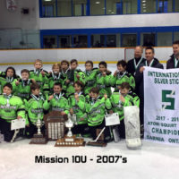 Mission Boys 10U (07's) Win Silver Stick