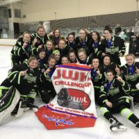 Girls U16 Win JWHL Challenge Cup