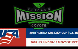 FORMER CHICAGO MISSION PLAYERS SELECTED TO HLINKA 18U SELECT TEAM