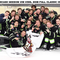 Chicago Mission U16 USHL Fall Classic Champions