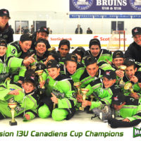 Mission 13U Canadiens Cup Champions
