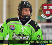 Kyle Aucoin Commits to Harvard