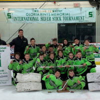 Peewee Minor 2007s win International Silver Stick!  +PHOTOS!