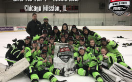 Mission Girls 14U Win CCM World Invite