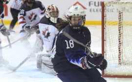 U.S. Falls to Canada, 3-2, in Overtime  (CONGRATS ABBEY!)