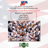 Mission Players Named to IIHF Women's USA Team