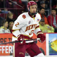 Denver's Fear named winner of NCAA's Elite 90 award as Frozen Four player with highest GPA