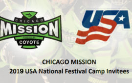 41 Mission Players  invited to USAH National Player Camp
