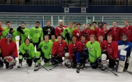 Chicago Mission Alumni Scrimmage AHIHA Junior/Midget Team.