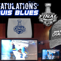 Congratulations ST. LOUIS BLUES