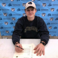 Mission alumni Hunter Weiss Signs NLI with Notre Dame