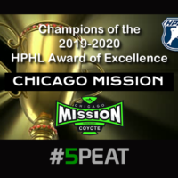 Chicago Mission HPHL Award of Excellence