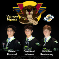 Trio signs LOI with Vernon Vipers BCHL