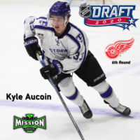 Mission Alum KYLE AUCOIN drafted in 6th Round in the 2020 NHL Draft