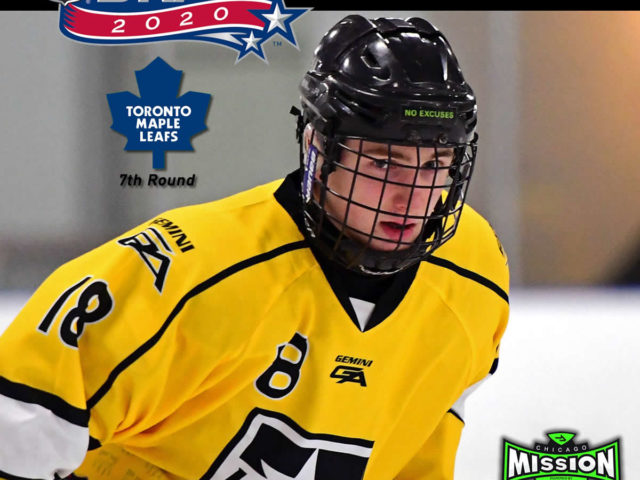 Mission Alum Wyatt Schingoethe drafted in 7th Round in the 2020 NHL Draft