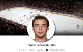 Mission Alum Tanner Laczynski Makes NHL Debut