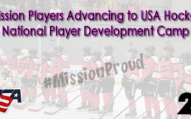 Mission Girls Players Advancing to USA Hockey Camps !