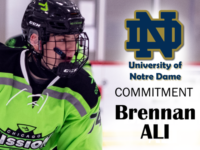 BRENNAN ALI Commits to Notre Dame