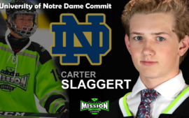 CARTER SLAGGERT Commits to Notre Dame